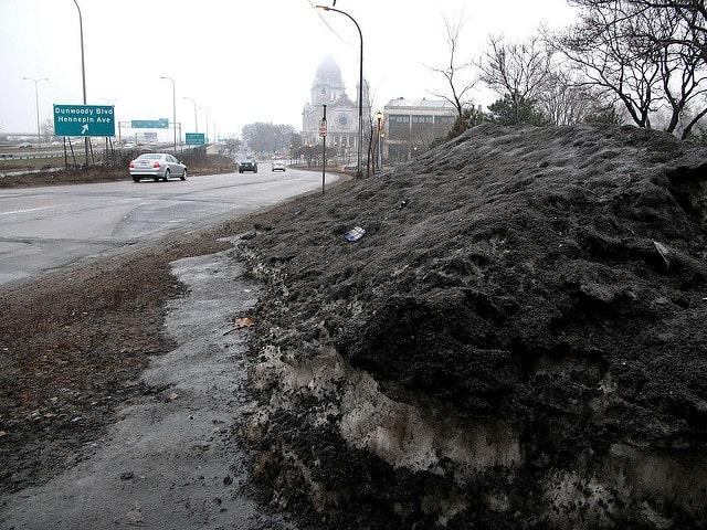 giant-snoal-pile-soil-pollution