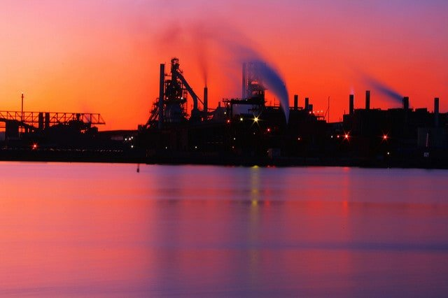 industrial-sunset-industrial-pollution