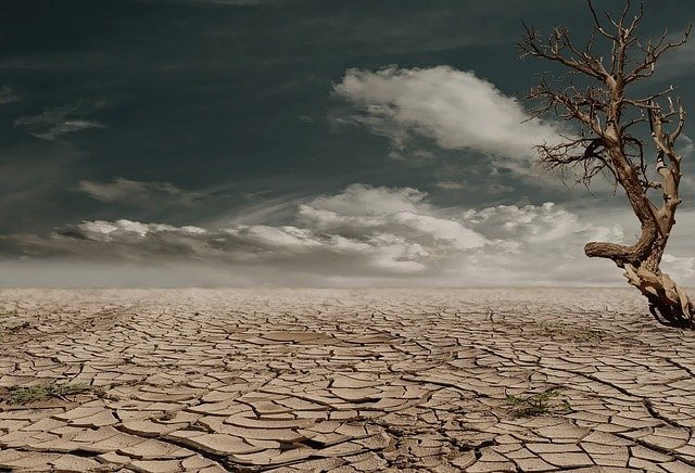 desert-drought-dehydrated-clay-soil