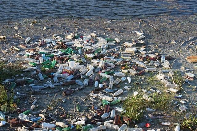 bottles-dump-floating-garbage-beach-water-pollution