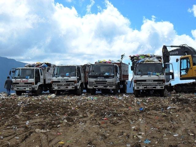 garbage-dump-trucks-site-waste