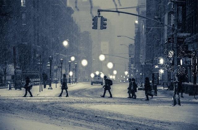 city-winter-snow-blizzard-people