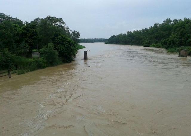 Ghaghara-river