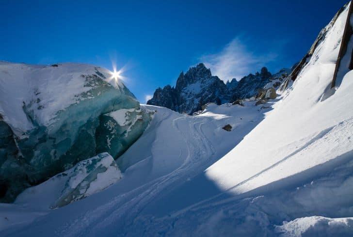 Alpine-glacier